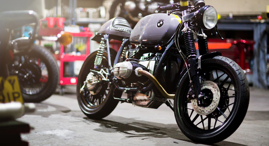 Kevils Speed Shop: Kings of the BMW Cafe Racer