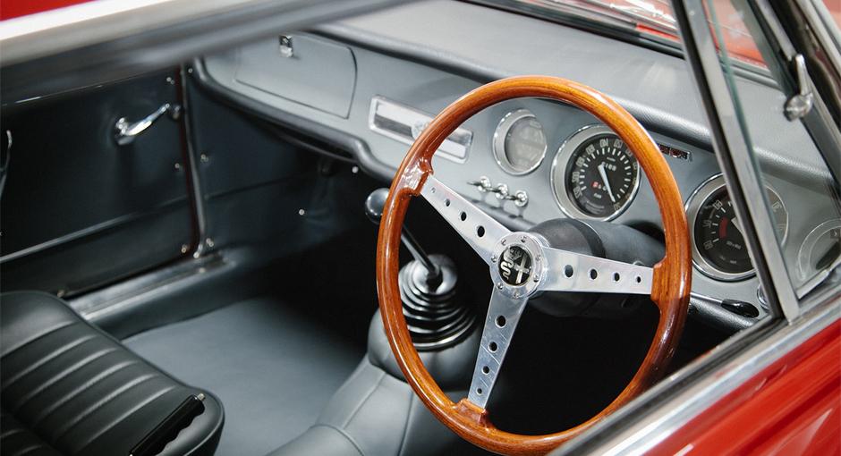 The Alfa Romeo Giulia Sprint GT