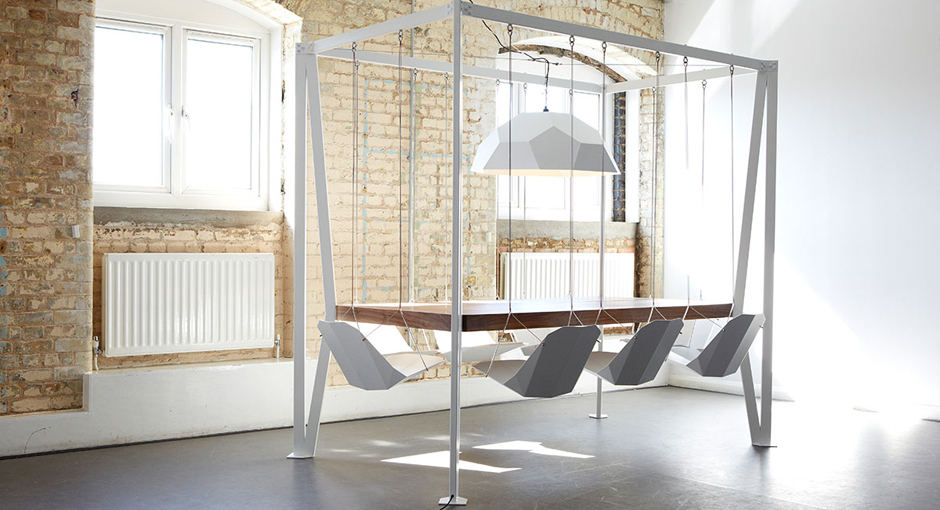 The King Arthur Swing Table by Duffy London