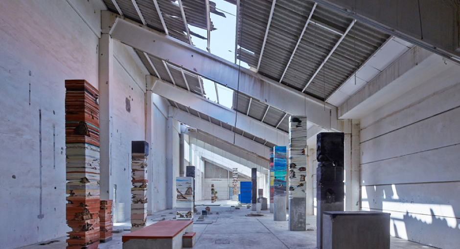 Adrian Villar Rojas Material Columns