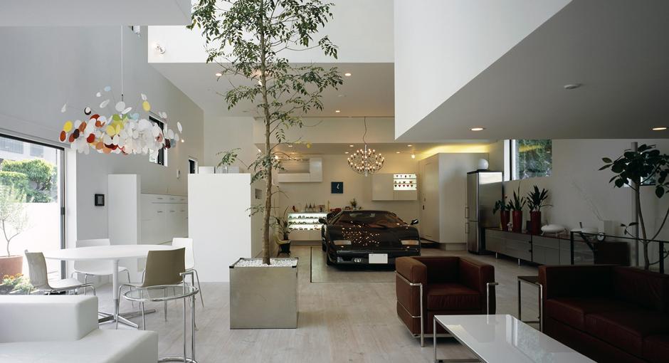 The Lamborghini Countach Living Room