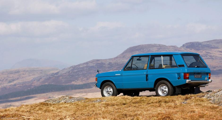 70's Icon | The Classic Range Rover