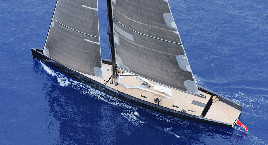 The Wally 130 Angel's Share Yacht