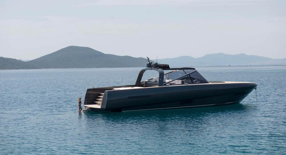 The Alen 68 Yacht