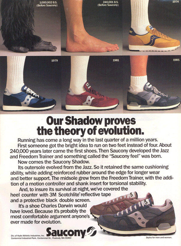 saucony running shoes history
