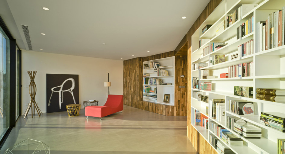 The Crossed House by Clavel Arquitectos