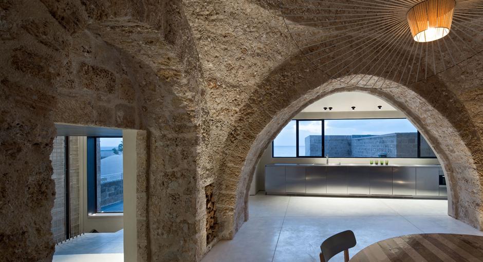 The Factory Jaffa House by Pitsou Kadem