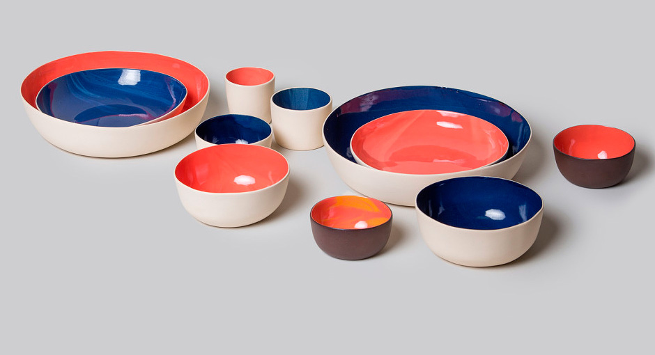 Cathal McAteer launches Folk Ceramics & Lighting Collection