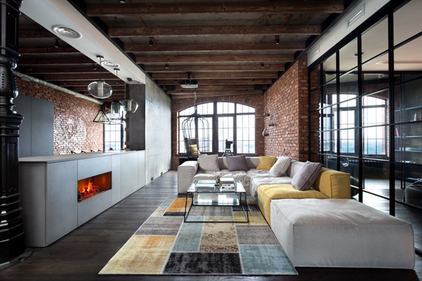Kiev Loft By Martin Architects