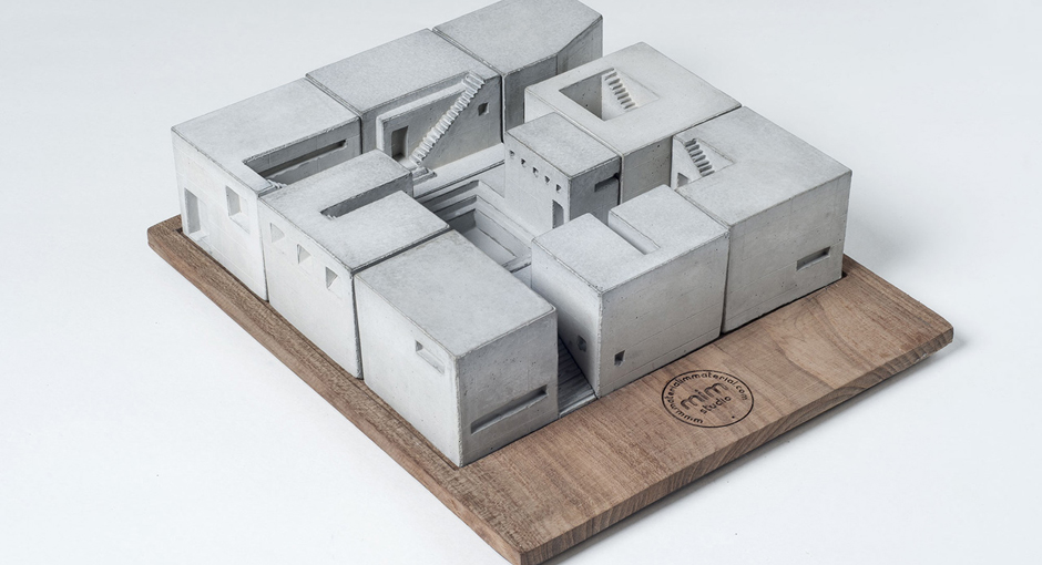 Miniature Concrete Buildings by Material Immaterial