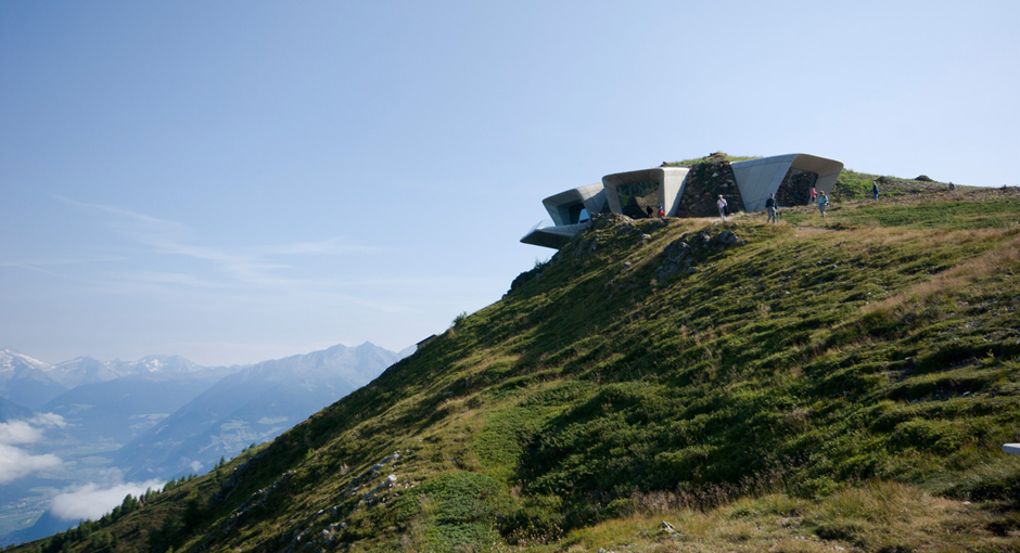 The Reinhold Messner Museum by Zaha Hadid Architects