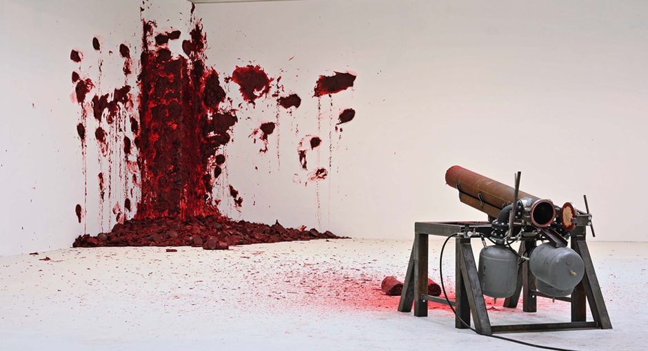 Dirty Corners by Anish Kapoor