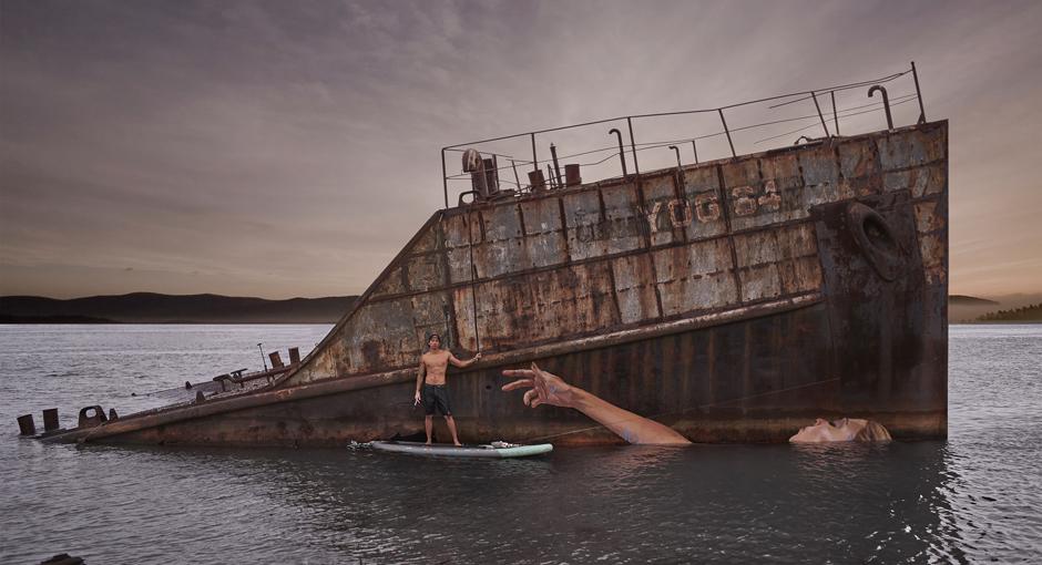 Floating Female by Hula Artist