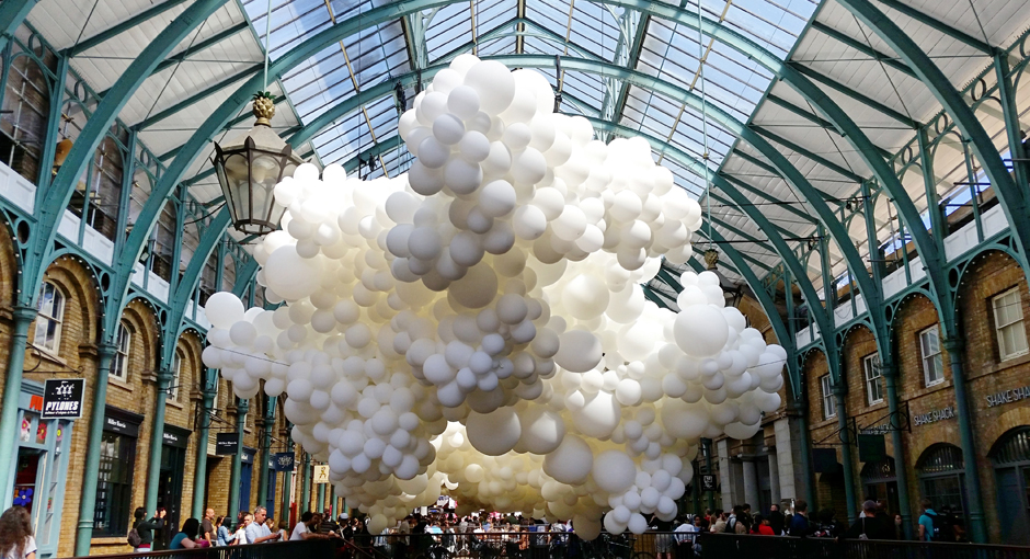 Cloud Of Balloons By Charles Petillon Opumo Magazine