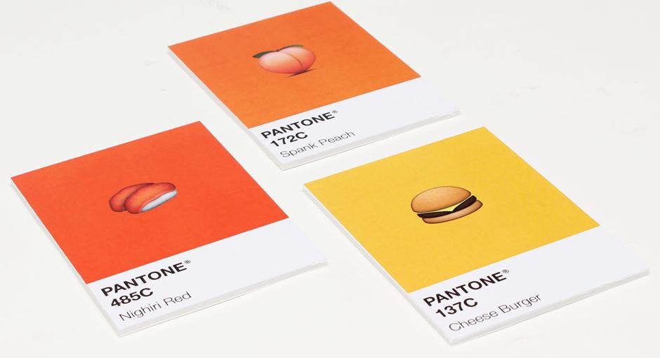 Emoji Pantone by Burro Studio
