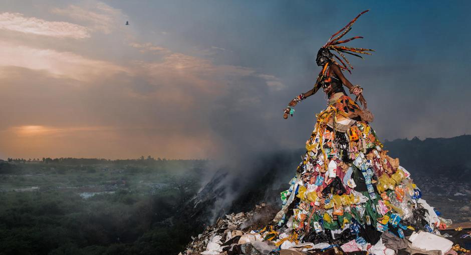 Garbage Garments by Fabrice Monteiro