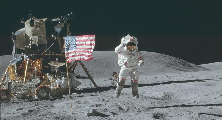 NASA Moon Mission Images