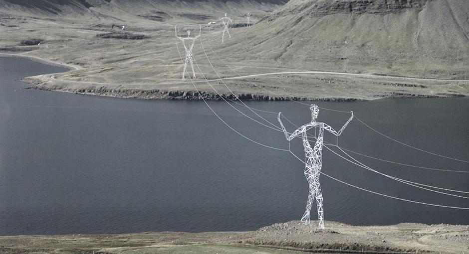 Choi+Shine Electricity Pylons