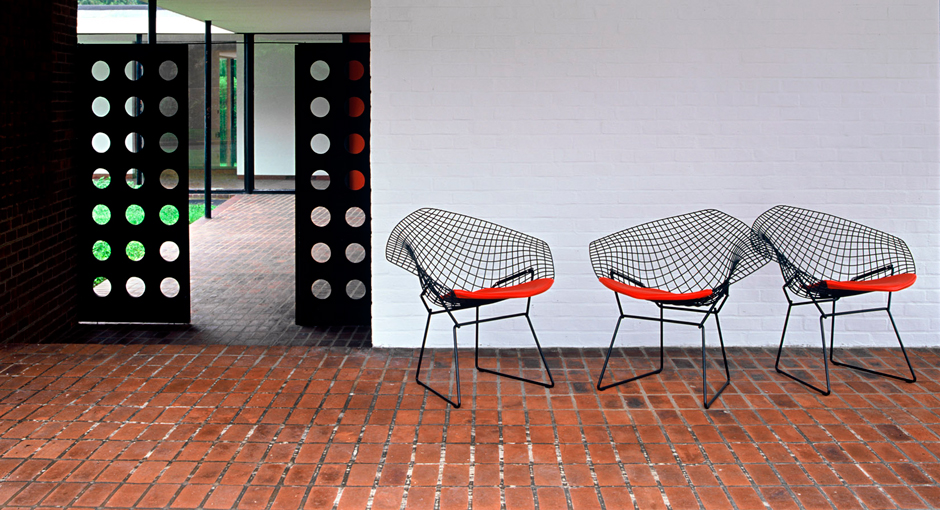 Design Classic: The Bertoia Diamond Chair