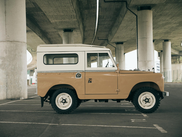 land rover series ii from cool n vintage. Black Bedroom Furniture Sets. Home Design Ideas
