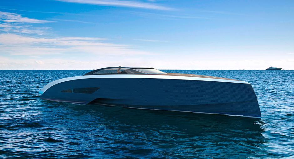 Carbon Fibre Yachts by Bugatti and Palmer Johnson