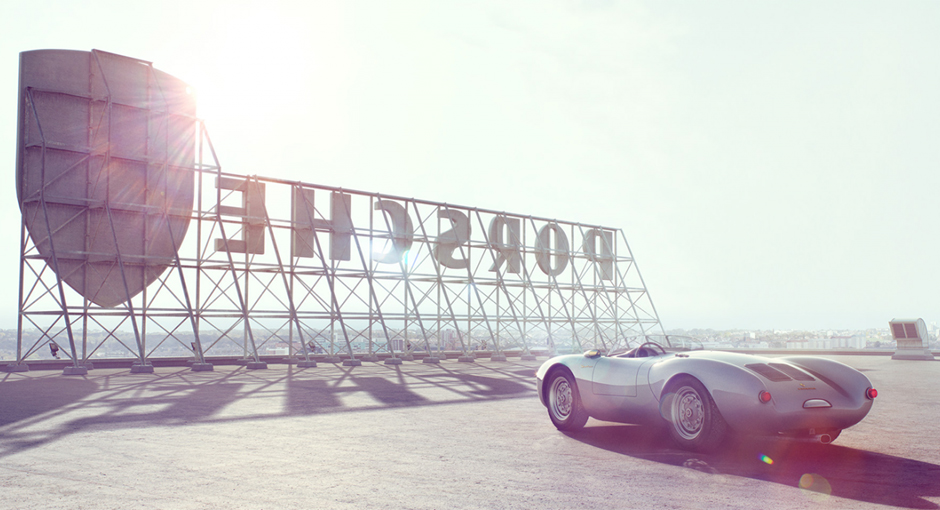 Porsche 550 Spyder Photography by Peter Aylward