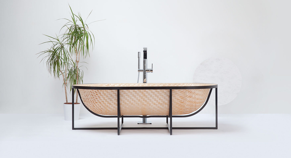 Woven Bathtub by Tal Engel