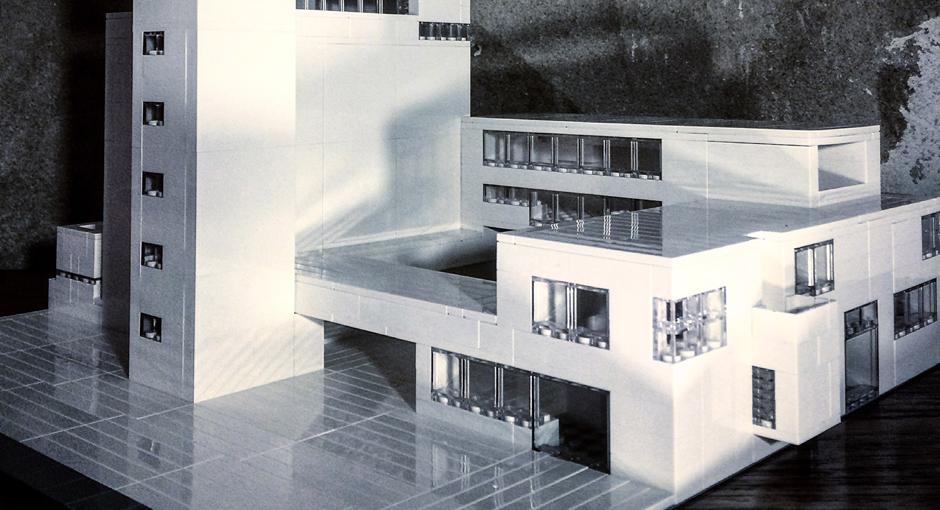 Brutalist Lego Buildings by Arndt Schlaudraff