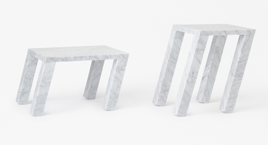 Marble Tables by Nendo