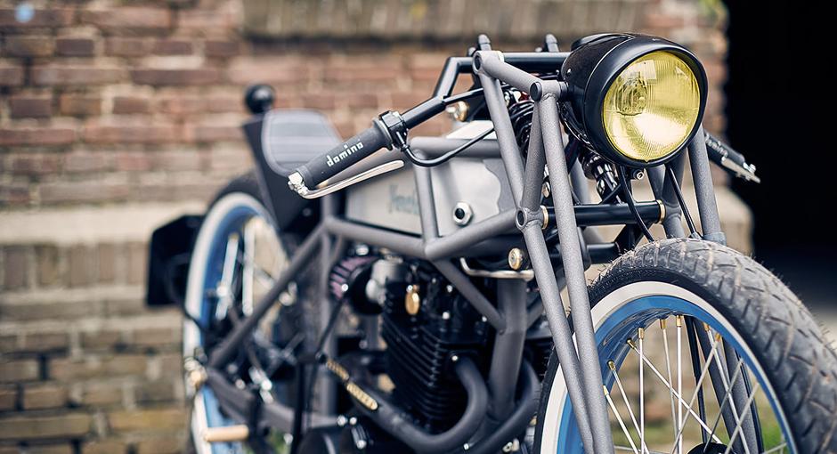 Yamaha XT550 by Maarten Poodt - OPUMO Magazine