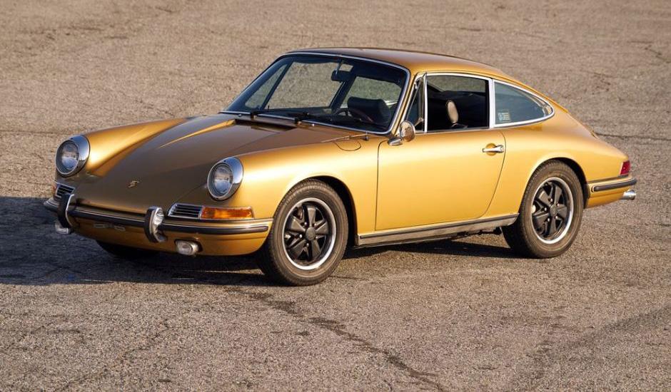 Rock n Roll Heritage of Golden Porsche 911L