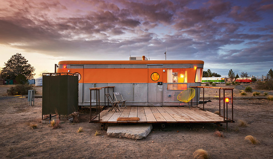 An Art Retreat in the Texas Desert.