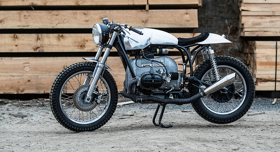 The minimalism of a unique BMW R60 Cafe Racer