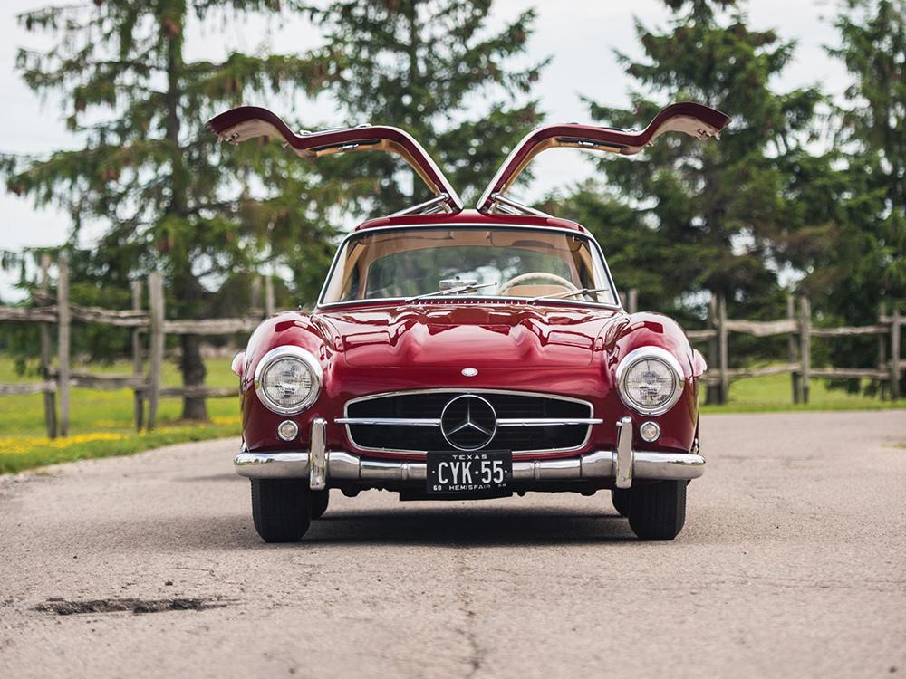 1954 Mercedes-Benz 300 SL Gullwingfront