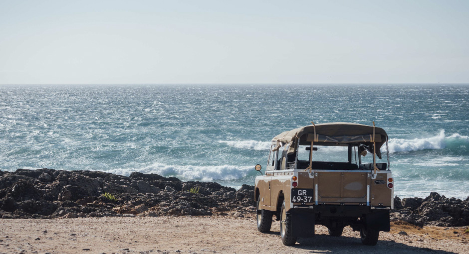 The Sand Land Rover Series 3
