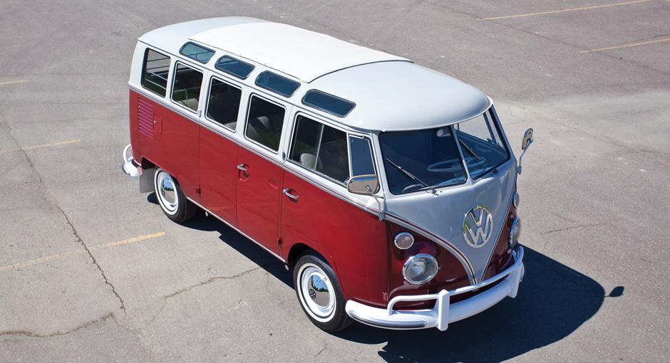 1966 Volkswagen Type 2 Deluxe Microbus