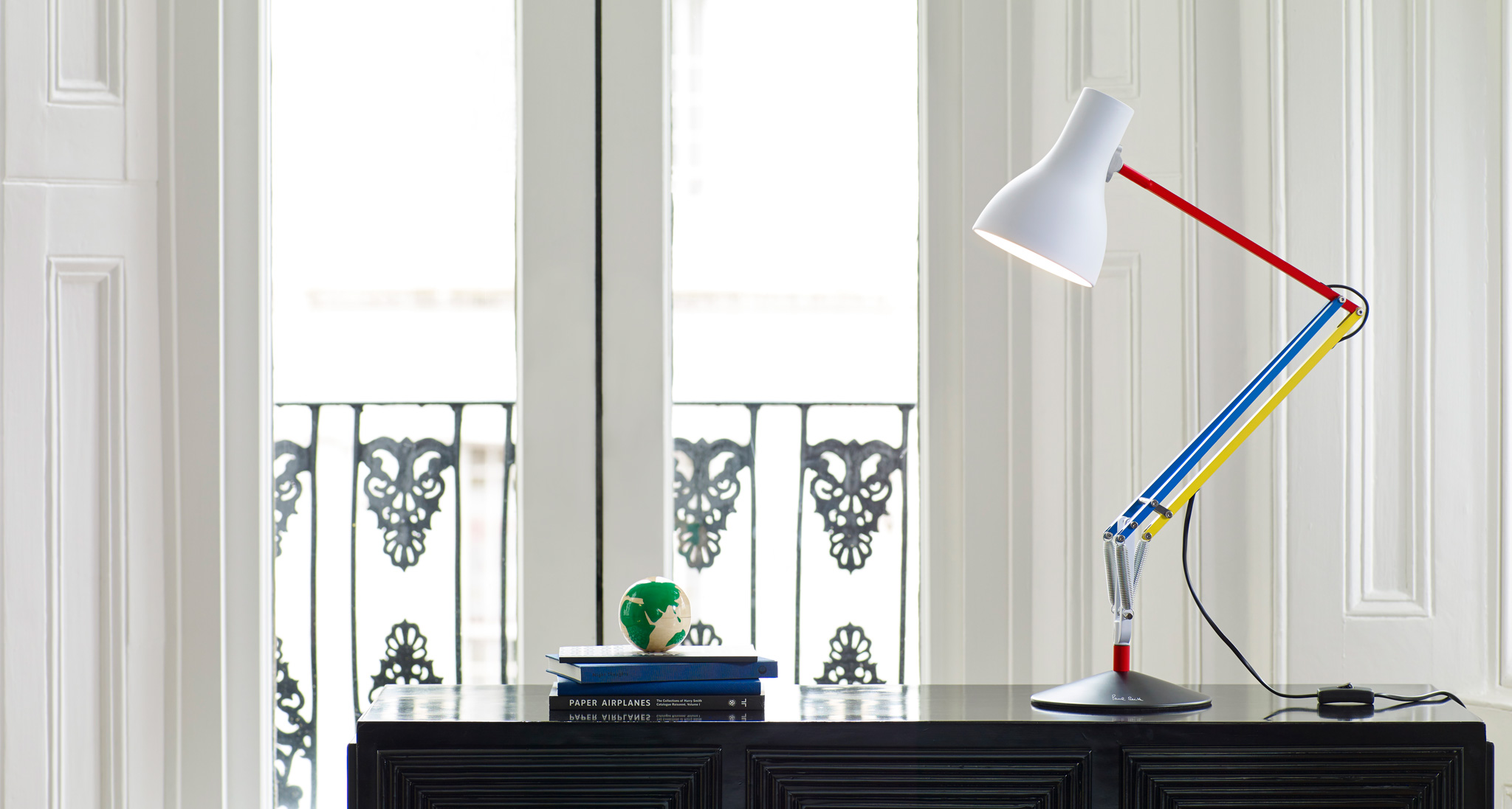 Anglepoise and Paul Smith Join Forces For A Special Edition Type 75 Lamp