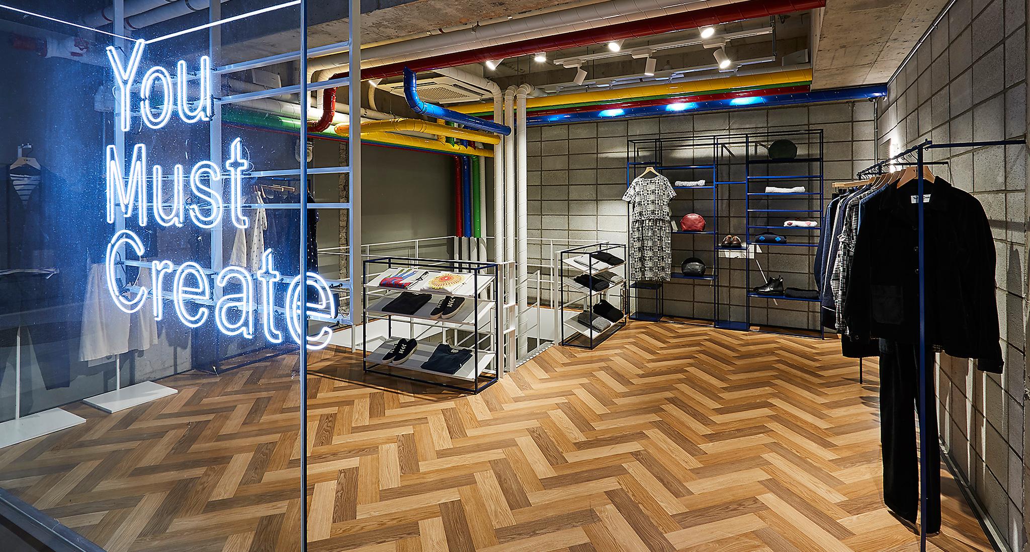 Take a look inside YMC's Seoul Store