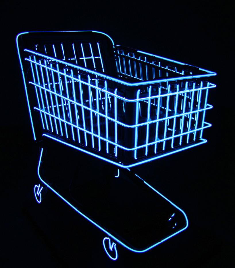 molly-v-dierks-neon-shopping-cart-2