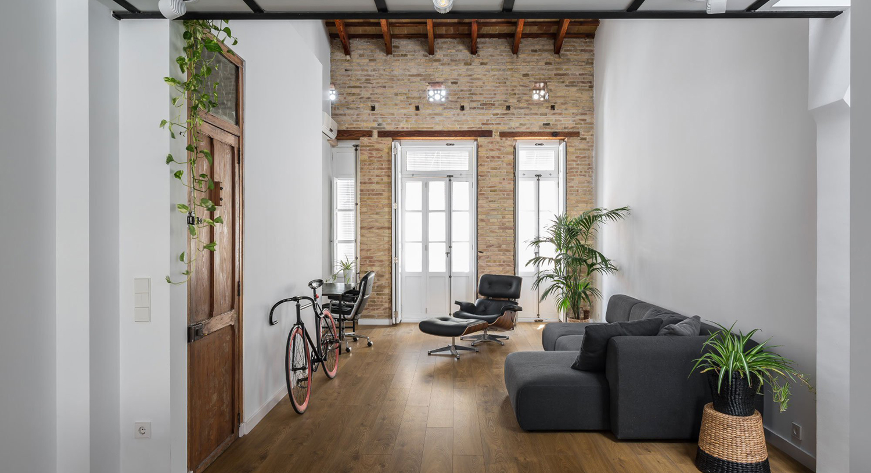 The striking modernity of a Valencia loft