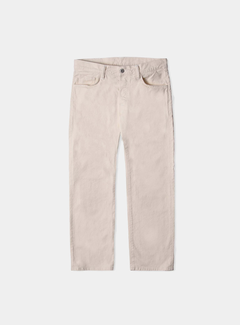 Edwin Natural - Rinsed ED-30 Loose Straight Cropped Jeans