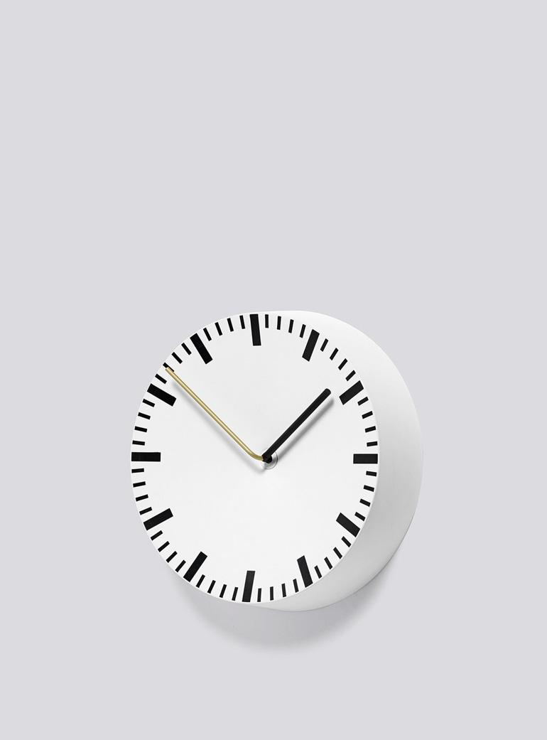 Future and Found HAY White Analog Clock