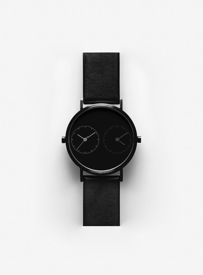 Kitmen Keung Black Steel Long Distance 1.0 Watch-10