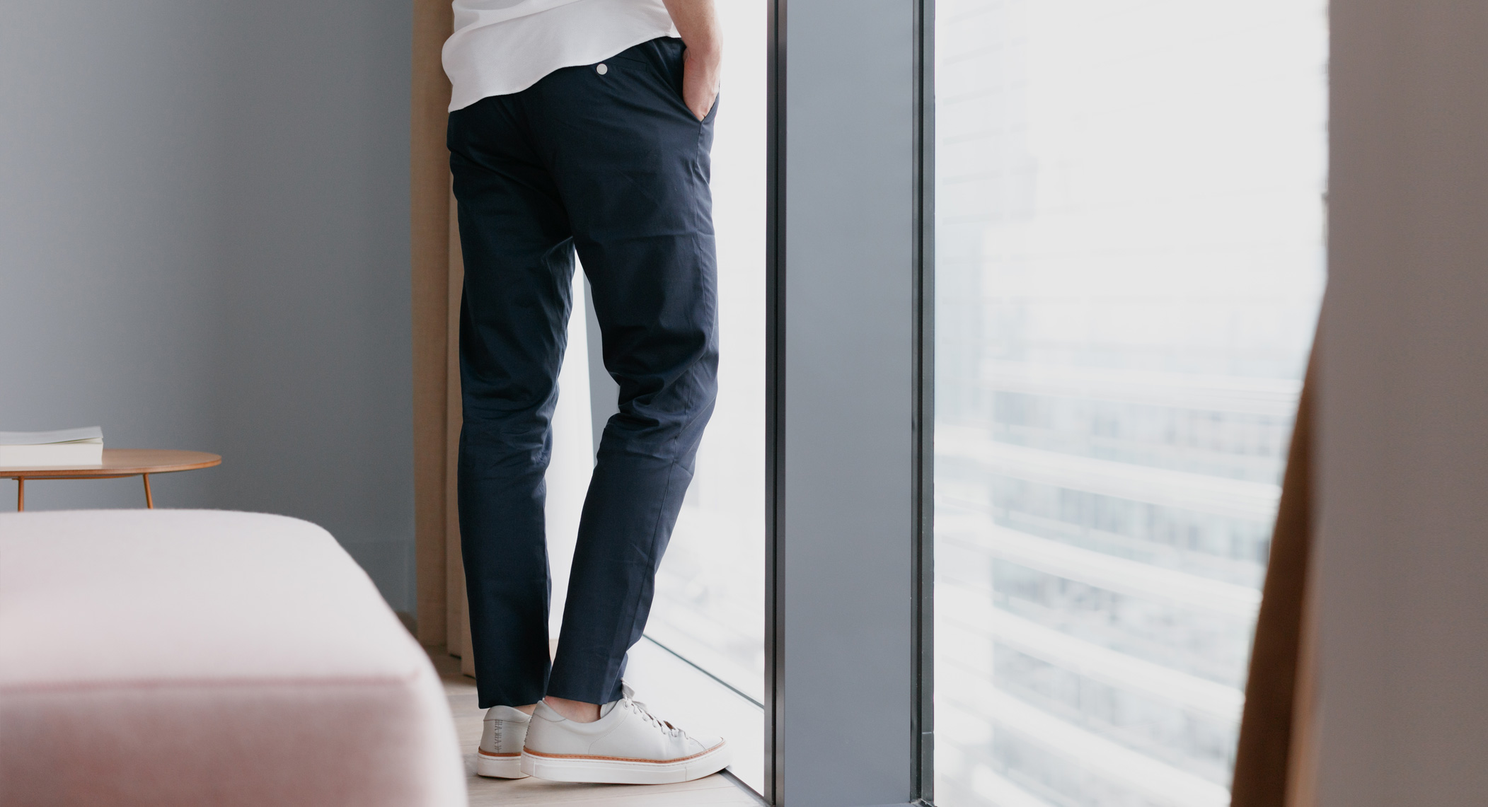How To Wear Drawstring Trousers
