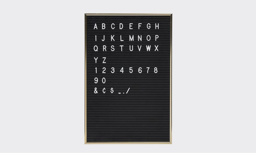 Opumo-Letter-Board