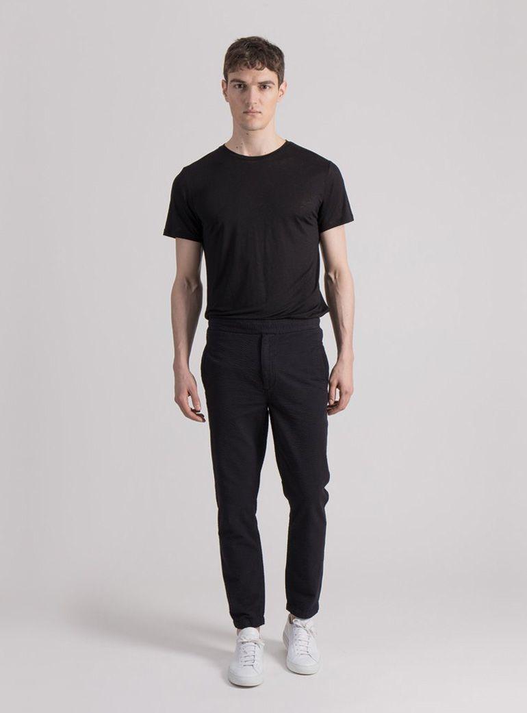 uniforms_for_the_dedicated_black_casual_seersucker_trouser1