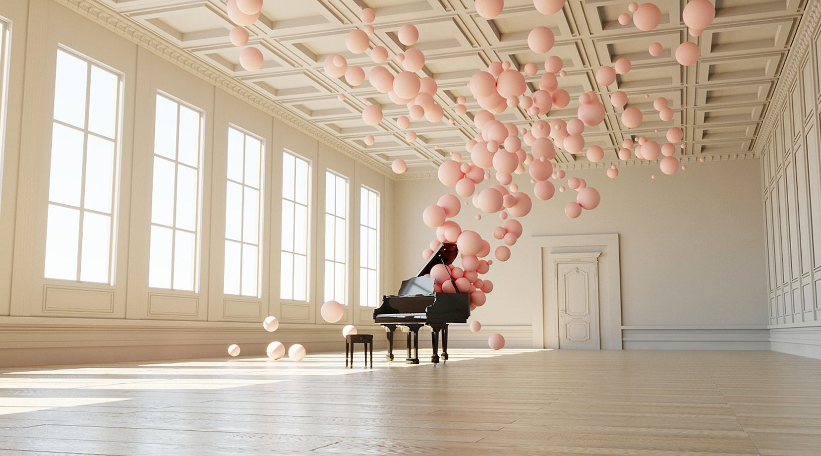 Music in Motion: Filling Spaces by Federico Picci
