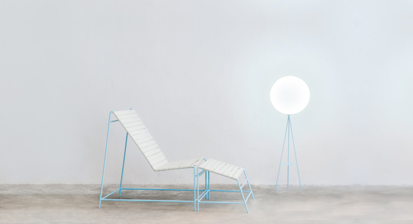 Smarin Unveil Sun Loungers Suitable For A 'Hockney-Universe'