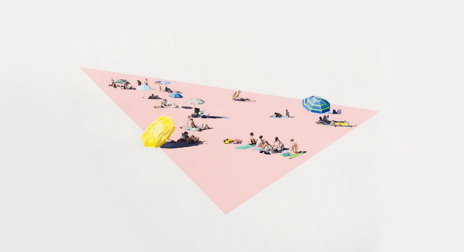 Life's A Beach: Check Out These Stunning Seaside Scenes by Kirsten Beets