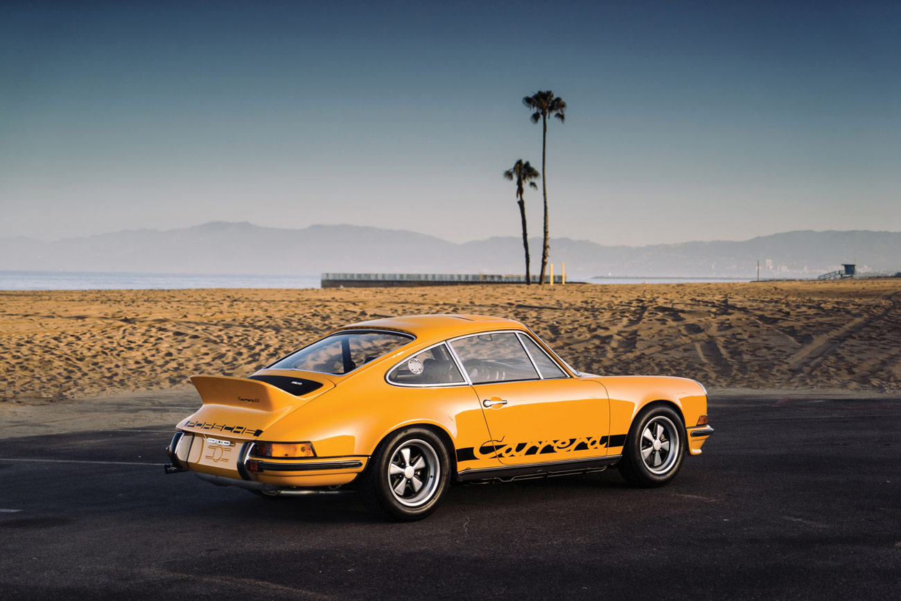 Classic car find of the week 1973 porsche 911 carrera rs opumo opumo vanachro Choice Image